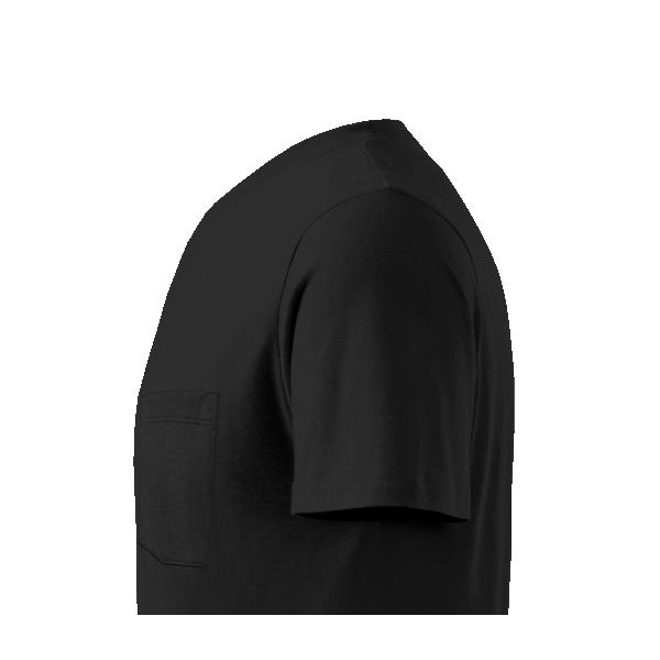 Férfi V-nyakú mellzsebes póló nyomtatás saját fényképpel d4b8de6f26