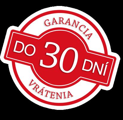 30-dňová garancia vrátenia