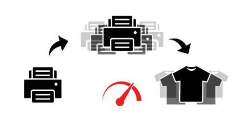 Fast T-shirt printing Kreativator