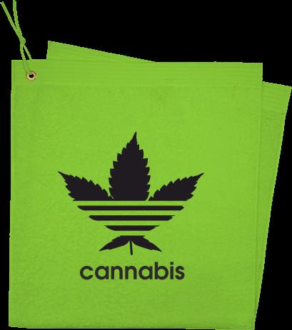 feb0e4f609 Cannabis | Törölköző saját hímzett mintával | Kreativator
