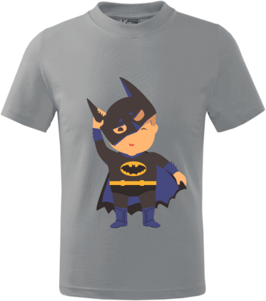 6b384185f5 Batman kid   Gyerek Life póló saját nyomtatott mintával, fényképpel ...