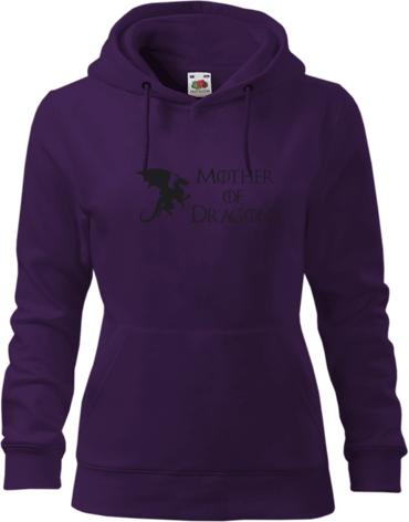 8cd118897f Mother of Dragons | Női kapucnis pulóver Fruit saját nyomtatott ...