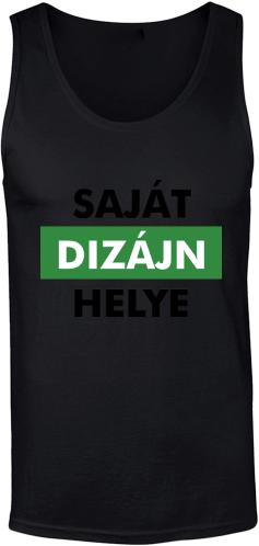 Férfi ujjatlan póló tervezés és nyomtatás saját mintával 1557e2853e