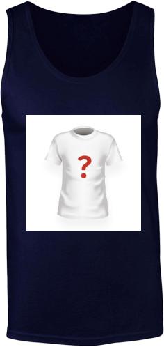 21b117b496 Fekete bárány | Férfi ujjatlan póló tervezés és nyomtatás saját ...
