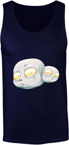 Férfi Gildan ujjatlan póló 13f1a58349