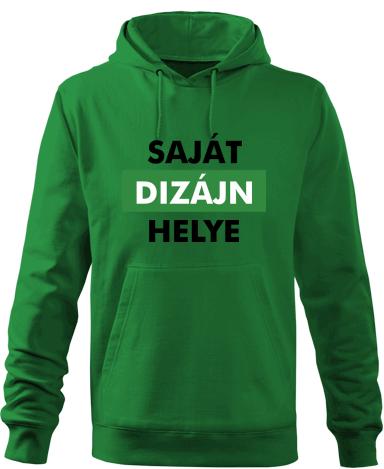 Férfi kapucnis pulóver saját nyomtatott mintával 455a7b3e2a