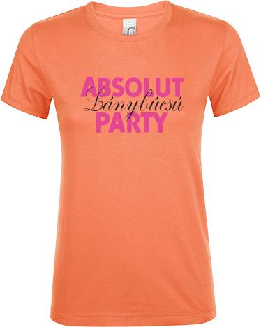 496156c6d8 Absolut Party | Klasszikus női Regent póló nyomtatás saját ...