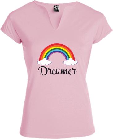 Dreamer | Női Roly Belice póló tervezés és nyomtatás saját